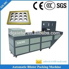Produtos eletrônicos PVC Blister automática térmica máquina de selagem