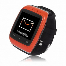 Customized new arrival 2014 smart watch phone android 4.0