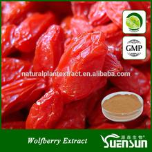 gmp factory water soluble organic goji berry powder