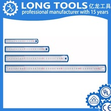 High quality metal stainless steel ruler 15cm 30cm size for student