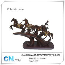 resin horse sculptures eight horses painting