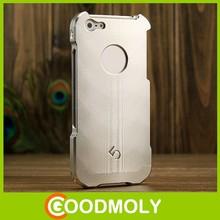 wholesale Fashion brushed aluminum metal phone case for apple iphone 5 5s