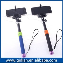 2014 NEW Monopod Handheld Selfie Stick Holder For iPhone Extendable+Audio Cable