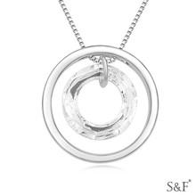 17506 2014 Crystal Fine Jewelry fashion girls necklace