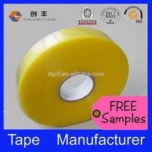 BOPP water based clear box sealing tape for carton sealing tape