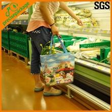 RPET cooler shopping bag for food storage