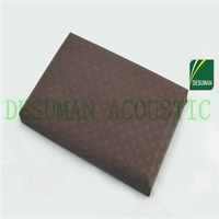 Meeting Room Soundproof And Decorative Fabric Acoustic Panel Soundproof Glass Wool