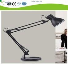 Modern Study office use long flexible swing arm desk lamp