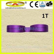 flat woven sling webbing