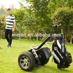 2 wheel balance personal transportor hotel golf cart wholesale with golf rack