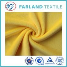 Short pile plush fabric fleece fabric for kid bedding