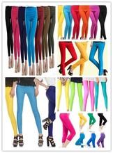 seamless leggings for women Basic Solid Plain Leggings Stretch Yoga Pants