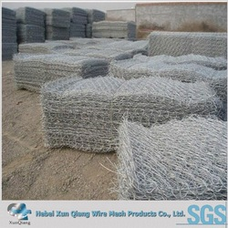 folding gabion baskets chicken wire mesh