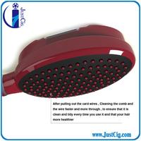 Super hot USA Easy clean hair comb JMS A titanium comb accept paypal best hair brush
