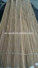 in stock 0.15mm/0.20mm sliced Bruma Teak veneer