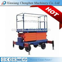 stable unit mechanical scissor jack / Chinese scissors lifts
