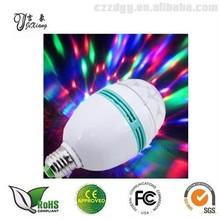 china 3w e27 led rotating bulb