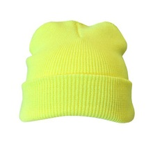 Fancy Decorate Yellow Minion Beanie HAT