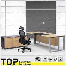 Good Quality Metal Steel Frame Office Modern Executive MDF Desk