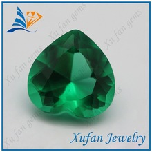 hot sale glass gemstone diamond cut synthetic glass gems