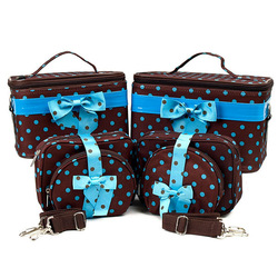 Toiletry Bags Sets Of 3 Lady Cosmetic Make Up Toilet Wash Bag Small Medium Large Sizes