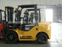 euro 3 emission lift forklift/ 3 ton fork lift truck
