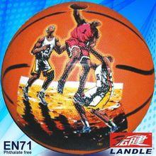 size 7 rubber made outdoor sport name brand exercise outdoor basketball