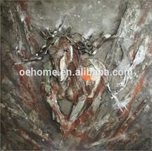 Hot Sell Newest Art Painting Handmade 3D metal wall art