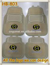 PVC car floor mats with logo rubber car mats