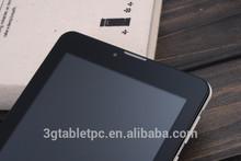"""7"""" tablet capacitive 3G sim card,WIFI,GPS,BT,FM, 2g GSM"""