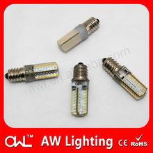 12 volt LED lights motorcycles 230V silicon 2W E14 LED candle