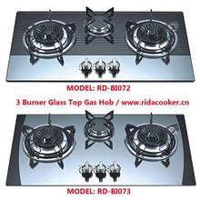 Hot sales 3 burner gas hobs (RD-BI072 & RD-BI073)