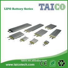 lipo battery 3.7v 550mah lithium polymer battery