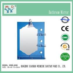 2014 4mm single or double coated bathroom mirror hangzhou mirror