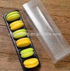 Hot sale plastic macaron container