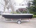 Se vende bote de pesca en aluminio con certificación CE de 15 pies