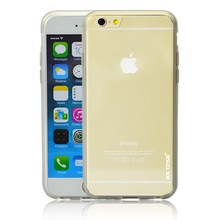 Hybrid Ultra Thin Transparent Crystal Clear Hard PC+TPU Case Cover for iPhone 6