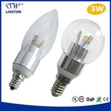 high lumens led bulb light e12 with ce rohs