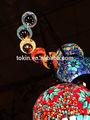 2015 neue desigh handwerk mosaikkunst türkische hängelampen in china kronleuchter 9 kugeln Einrichtung( cc9m01)