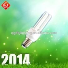 mini spiral cfl lamp e14 6400k 7w 2u lamp energy saver lighting made in china