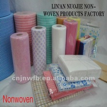 needle-punched cheap fabric roll