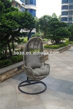 express alibaba garden rattan swing chair hammock/ Aluminum frame outdoor furniture hanging egg chair