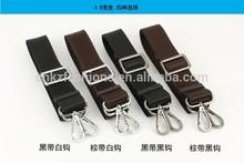 good quality 3.8cm 155cm long adjustable high desity nylon bag strap golf bag strap