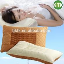 Organic cotton filled standard size sound sleep Memory foam husband pillow