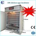 più venduti 440 completamente automatico incubatrice uova di quaglia da cova e la macchina per la vendita