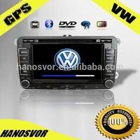 VW PASSAT CAR DVD/GPS 7 inch HD touch screen double din car dvd
