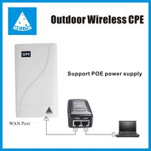 150M wifi Bridge,wireless access point ,2.4G,14dBi panel antenna, passive POE power supply,RJ45 interface