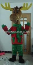 caliente venta de navidad mascota para adultos traje de renos