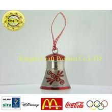 2015 New Design Metal Small Christmas Bell