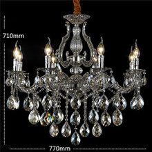 Design Energy Conservation Sparkling Luxury Crystal Chandelier